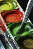 Disegno di spazzola Fotografia Stock