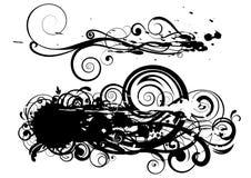 Disegno di turbinio del punto Fotografie Stock Libere da Diritti