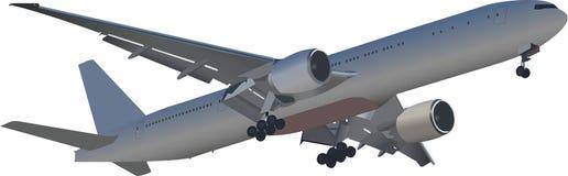 Disegno di vettore degli aerei Immagini Stock Libere da Diritti