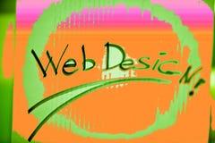 Disegno di Web Immagini Stock