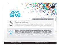 Disegno di Web site Immagine Stock Libera da Diritti