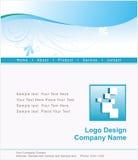 Disegno di Web site e di marchio illustrazione di stock