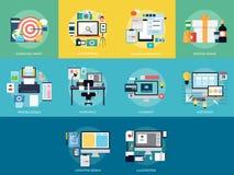 Disegno e sviluppo illustrazione vettoriale
