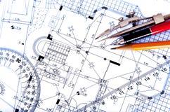 Disegno ed implementazione in cambiale illustrazione vettoriale