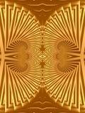 Progettazione egiziana dei gioielli dell'oro Immagine Stock Libera da Diritti