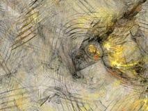Disegno fantastico di frattalo Fotografia Stock Libera da Diritti