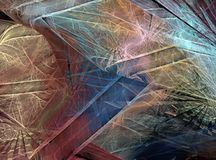 Disegno fantastico di frattalo Immagini Stock