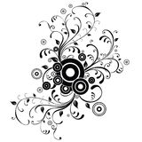 Disegno floreale Immagini Stock