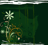 Disegno floreale Fotografie Stock