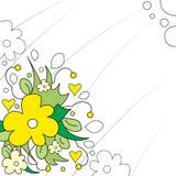 Disegno floreale Immagini Stock Libere da Diritti