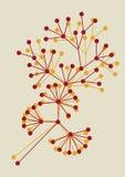 Disegno floreale astratto Immagini Stock Libere da Diritti
