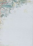 Disegno floreale del reticolo di Grunge Immagine Stock