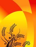 Disegno floreale di estate calda Immagini Stock Libere da Diritti