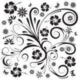 Disegno floreale di vettore astratto illustrazione vettoriale