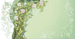 Disegno floreale II Fotografia Stock Libera da Diritti