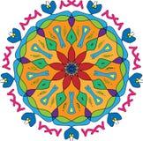 Disegno floreale variopinto Fotografia Stock Libera da Diritti