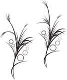 Disegno floristico Immagine Stock