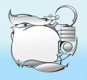 Disegno futuro 2 di UI Fotografie Stock