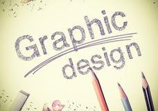 Disegno grafico fotografia stock