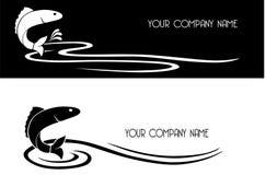 Disegno grafico dei pesci Fotografie Stock Libere da Diritti