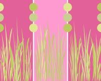Disegno grafico dell'erba Fotografie Stock Libere da Diritti