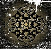 Disegno grungy della carta da parati dell'ottomano antico Fotografia Stock