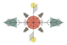 Disegno indiano illustrazione vettoriale