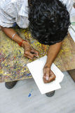Disegno indiano dell'uomo Fotografia Stock Libera da Diritti