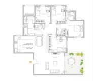 Disegno casa unifamiliare illustrazione di stock for Disegno interno casa
