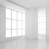 Disegno interno bianco Immagine Stock