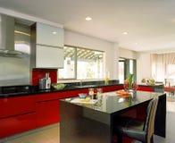 Disegno interno - cucina Immagine Stock