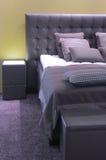 Disegno interno della camera da letto moderna. Immagini Stock Libere da Diritti