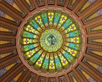 Disegno interno della cupola Immagini Stock