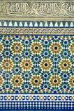 Disegno islamico del reticolo Immagini Stock