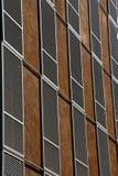 Disegno moderno delle finestre della costruzione Fotografie Stock Libere da Diritti