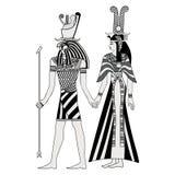 Disegno nazionale egiziano royalty illustrazione gratis