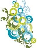 Disegno ornamentale astratto Fotografia Stock Libera da Diritti