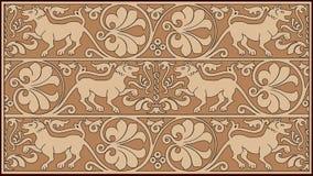 Disegno ornamentale astratto Immagine Stock