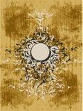 Disegno ornamentale del grunge Immagini Stock