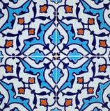 Disegno persiano delle mattonelle Fotografia Stock Libera da Diritti