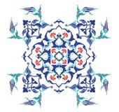 Disegno pulito dell'ottomano tradizionale Fotografie Stock Libere da Diritti