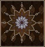 Disegno pulito dell'ottomano tradizionale Fotografia Stock