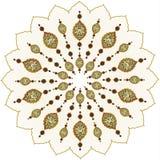 Disegno pulito dell'ottomano tradizionale Immagine Stock