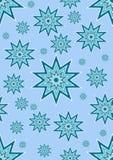 Disegno senza giunte morbido della stella blu Fotografia Stock Libera da Diritti
