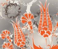 Disegno senza giunte turco dell'ottomano tradizionale royalty illustrazione gratis