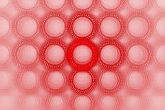 Disegno stampato in neretto luminoso del cerchio della bolla Fotografia Stock Libera da Diritti