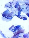 Disegno surreale stilizzato dell'albero Immagini Stock
