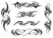 Disegno tribale illustrazione di stock