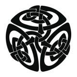 Disegno tribale del tatuaggio Immagini Stock Libere da Diritti