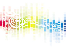 Disegno variopinto del reticolo di mosaico di vettore Fotografia Stock Libera da Diritti
